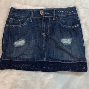 ▶️Guess◀️ kid's jean skirt